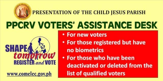 PPCRV-PCJ: ONE GOOD VOTE