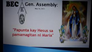 BEC General Assembly - A Celebration of God's Love