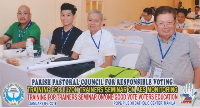 PPCRV-PCJ: ONE GOOD VOTE
