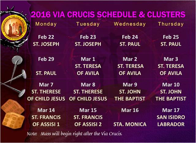 PCJ Via Crucis 2016