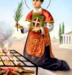 August 10-St. Lawrence, Deacon and Martyr