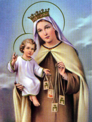 July 16-Our Lady of Mt. Carmel