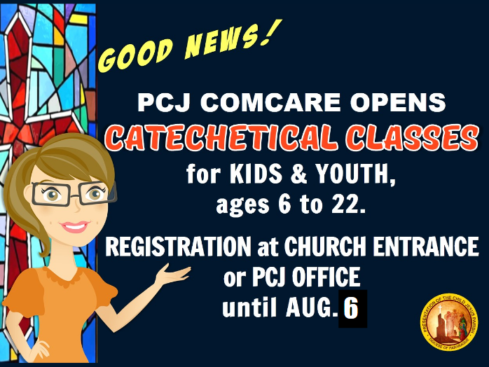 PCJ Catechetical Classes