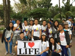 A Walk for Life, A Glimpse of Faith