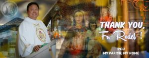 PCJ Bids Farewell to Fr. Rodel
